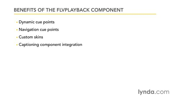 Understanding the benefits of the FLVPlayback component: Publishing Video with the Flash Platform