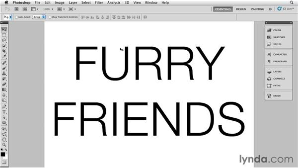 Creating a brush to make furry text: Bert Monroy: The Making of Times Square, The Tools