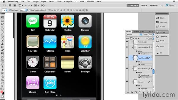 Creating the iPhone icons: Bert Monroy: The Making of Times Square, The Tools