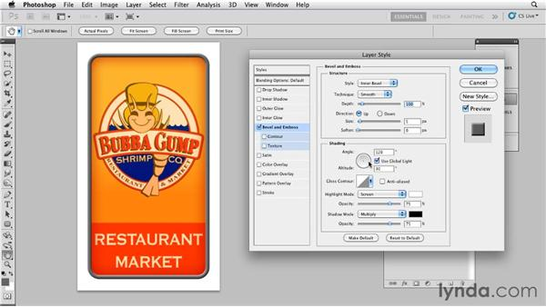 Creating the effect used on the Bubba Gump sign: Bert Monroy: The Making of Times Square, The Tools