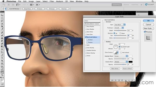 Creating realistic glasses: Bert Monroy: The Making of Times Square, The Tools