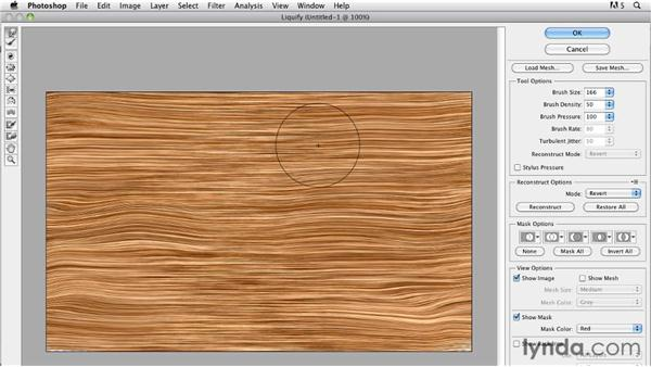 Creating a wood texture: Bert Monroy: The Making of Times Square, The Tools