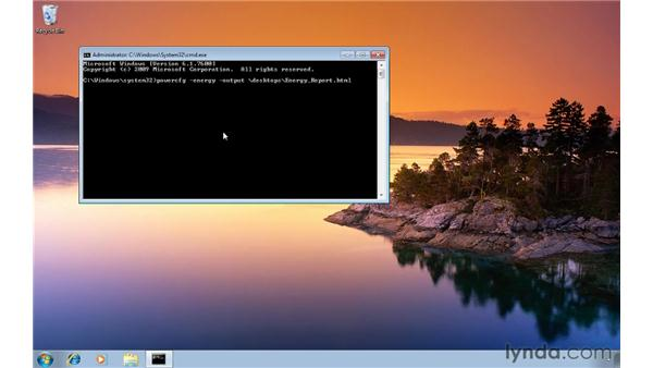 Getting a power efficiency report for your laptop: Windows 7 Tips and Tricks