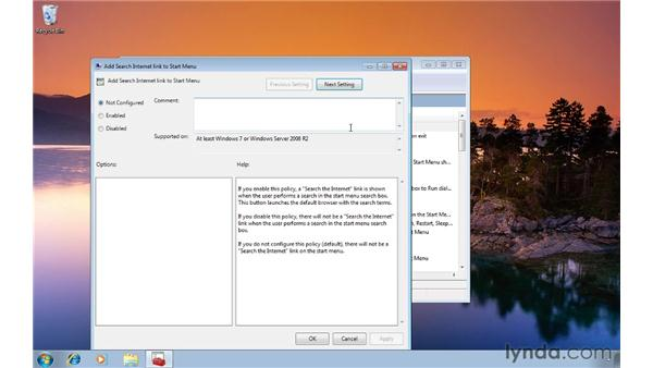 Searching the internet from the Start menu: Windows 7 Tips and Tricks