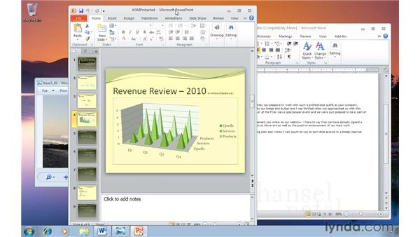 Shifting focus to a single window: Windows 7 Tips and Tricks