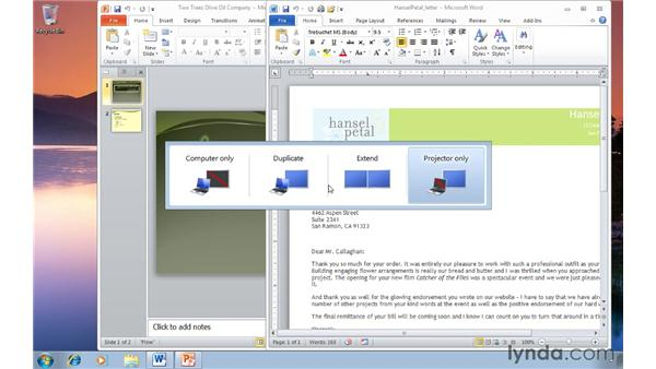 Managing multiple monitors: Windows 7 Tips and Tricks