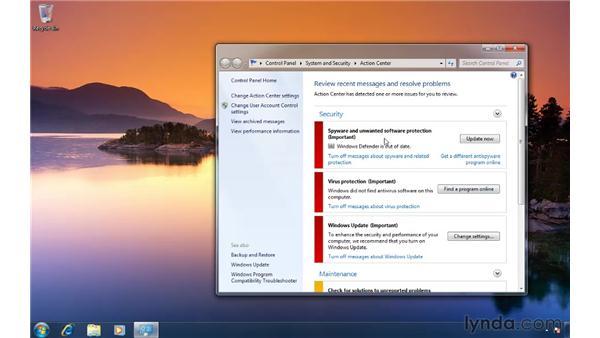 Disabling taskbar balloon tips: Windows 7 Tips and Tricks