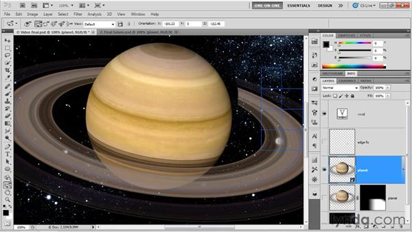 Using the Camera Rotate tool: Photoshop CS5 Extended One-on-One: 3D Fundamentals