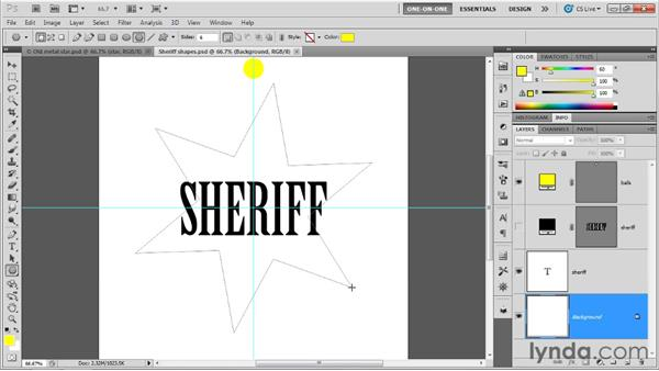 Creating the base shape layers: Photoshop CS5 Extended One-on-One: 3D Fundamentals
