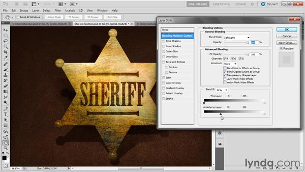 Enhancing the colors of a 3D scene: Photoshop CS5 Extended One-on-One: 3D Fundamentals