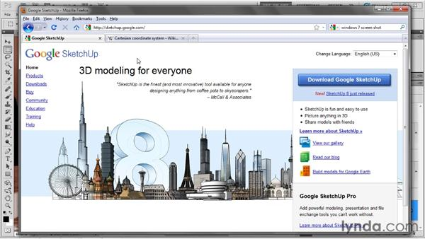 Importing a model from Google SketchUp: Photoshop CS5 Extended One-on-One: 3D Fundamentals