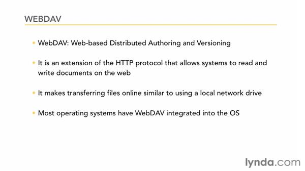 What are WebDAV and FTP?: CMS Fundamentals