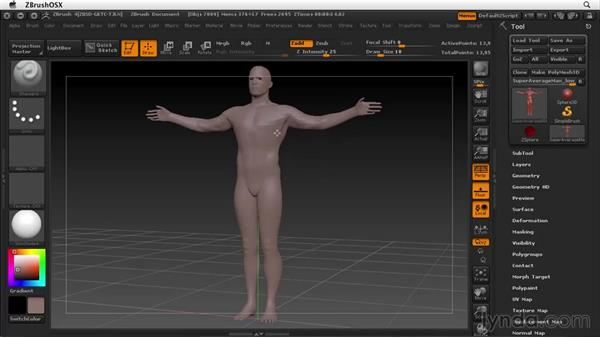 Welcome: ZBrush 4 Essential Training