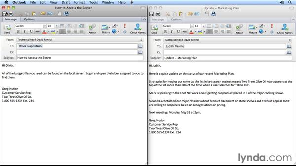 Five email etiquette tips: Outlook for Mac 2011 Power Shortcuts