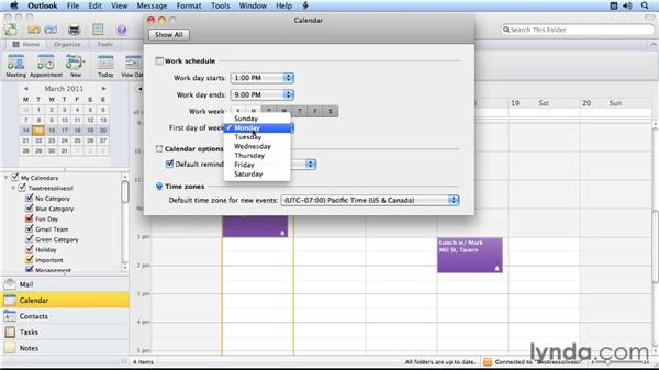 Creating your own custom calendar: Outlook for Mac 2011 Power Shortcuts