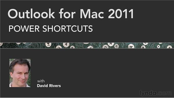 Additional resources: Outlook for Mac 2011 Power Shortcuts