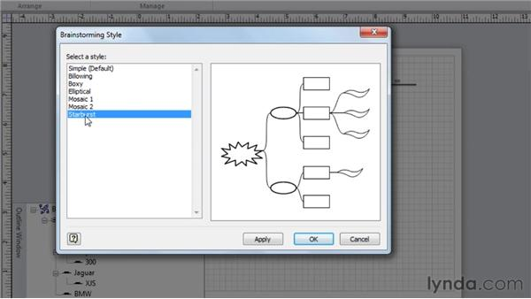 Changing the layout: Visio 2010 Essential Training