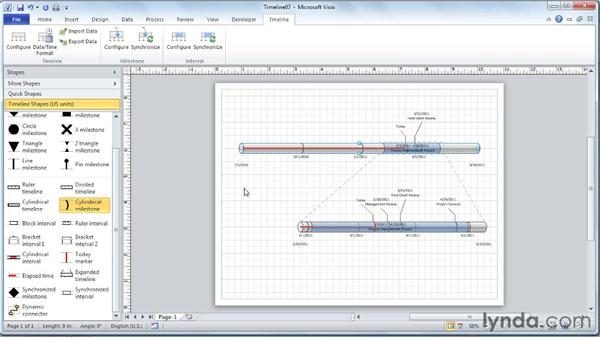 microsoft project timelines