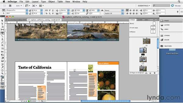 Understanding facing pages vs. non-facing pages: InDesign CS5: Print Production Guidelines