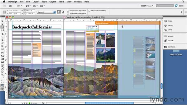Creating a gatefold layout: InDesign CS5: Print Production Guidelines