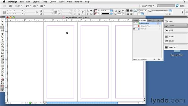 Creating a letterfold layout : InDesign CS5: Print Production Guidelines