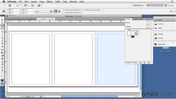 Creating a book cover layout for a perfect bound book: InDesign CS5: Print Production Guidelines