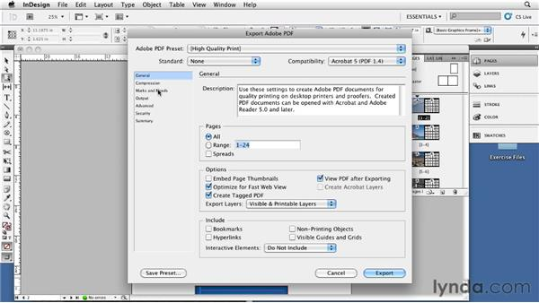 Creating a calendar layout: InDesign CS5: Print Production Guidelines