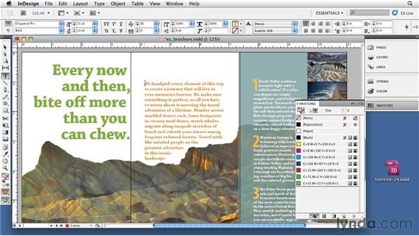 Checking for unnamed colors: InDesign CS5: Print Production Guidelines