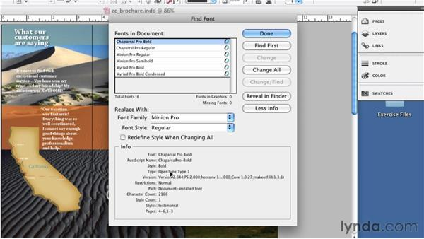 Choosing the best font formats: InDesign CS5: Print Production Guidelines