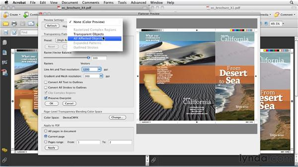 Understanding PDF/X-1a vs. PDF/X4: InDesign CS5: Print Production Guidelines