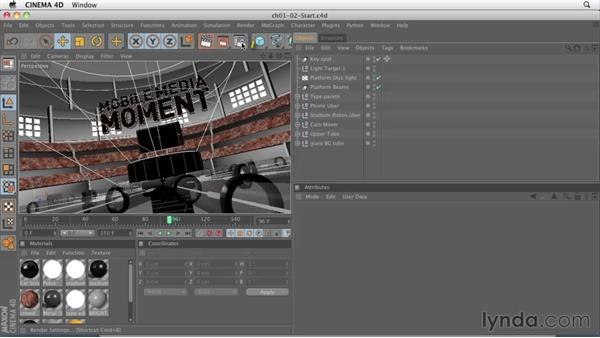 Welcome: CINEMA 4D: Rendering Motion Graphics for After Effects
