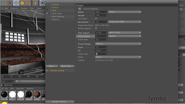 Essential render settings: CINEMA 4D: Rendering Motion Graphics for After Effects
