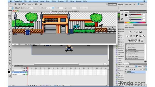 Converting a movie clip into a bitmap: Flash Professional CS5.5 New Features
