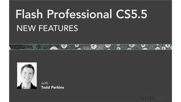 Goodbye: Flash Professional CS5.5 New Features