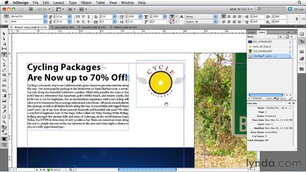 Working with linked stories: InDesign CS5.5 New Features