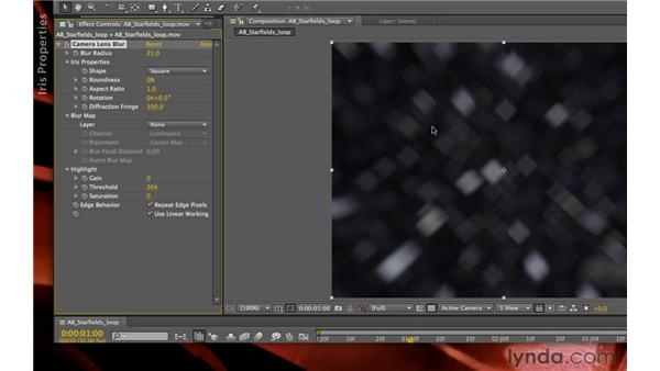 The Camera Lens Blur effect: After Effects CS5.5 New Creative Techniques