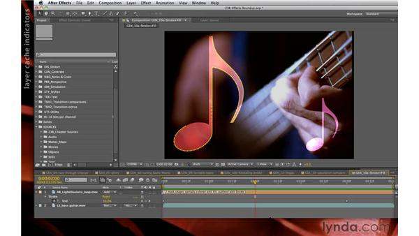 Enhanced caching: After Effects CS5.5 New Creative Techniques