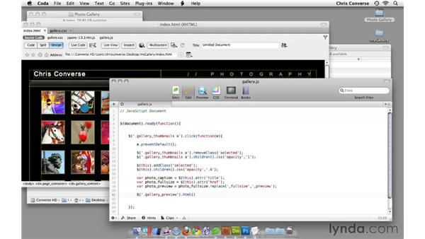 : Create an Interactive Photo Gallery with jQuery and Dreamweaver