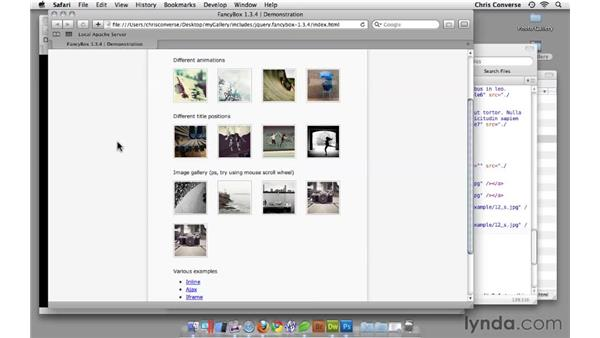 Some ideas for further enhancements: Create an Interactive Photo Gallery with jQuery and Dreamweaver