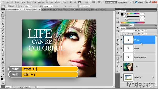 Making a 3D postcard: Photoshop CS5 Extended One-on-One: 3D Objects