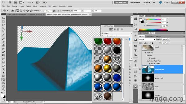 The advantage of 16-bit depth maps: Photoshop CS5 Extended One-on-One: 3D Objects