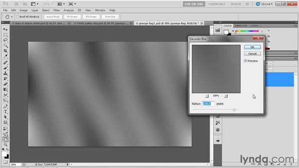 Hand-painting and blurring a depth map: Photoshop CS5 Extended One-on-One: 3D Objects