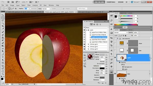 Making seamless textures and bump maps: Photoshop CS5 Extended One-on-One: 3D Objects
