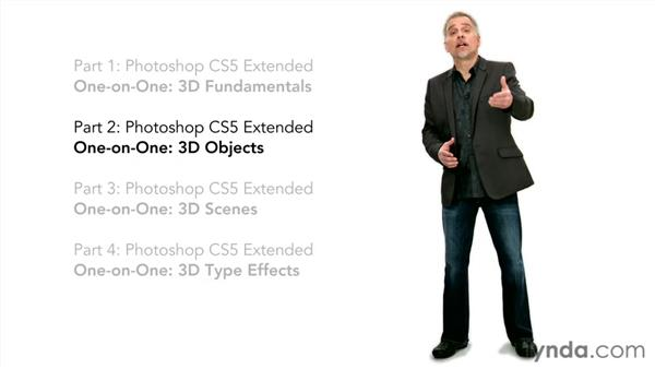 Until next time: Photoshop CS5 Extended One-on-One: 3D Objects