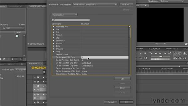 Picking the right keyboard layout: Premiere Pro CS5.5 New Features