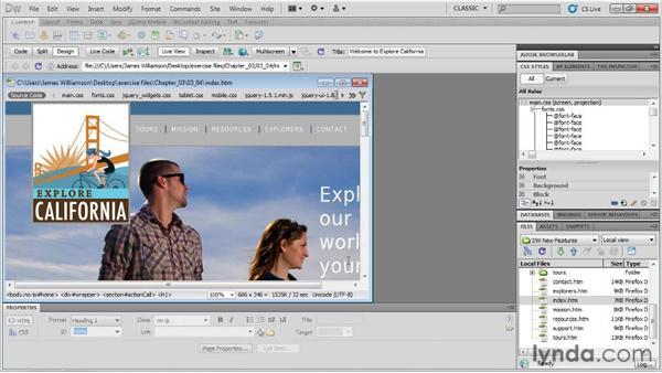 Multiscreen preview: Dreamweaver CS5.5 New Features