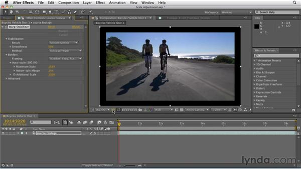 Controlling crop vs. smoothness: After Effects CS5.5 New Features