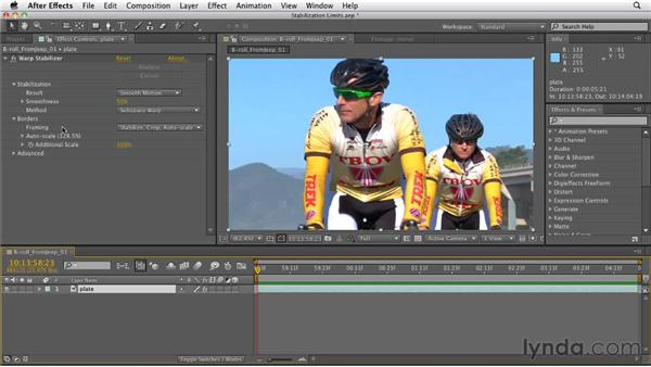 Understanding the limits of Warp Stabilizer: After Effects CS5.5 New Features