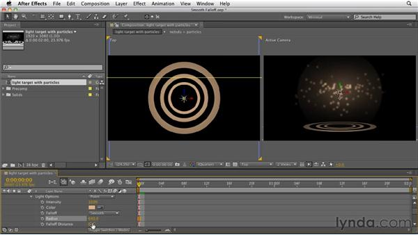 Adding smooth falloff: After Effects CS5.5 New Features