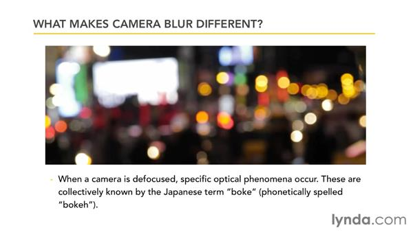 Understanding the Camera Lens Blur effect: After Effects CS5.5 New Features